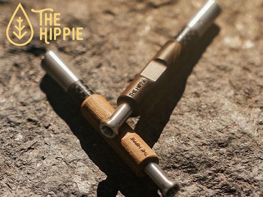 The Hippie Pipe パイプ型 アナログヴェポライザー 非電子 加熱式タバコ 【ヒッピーパイプ】
