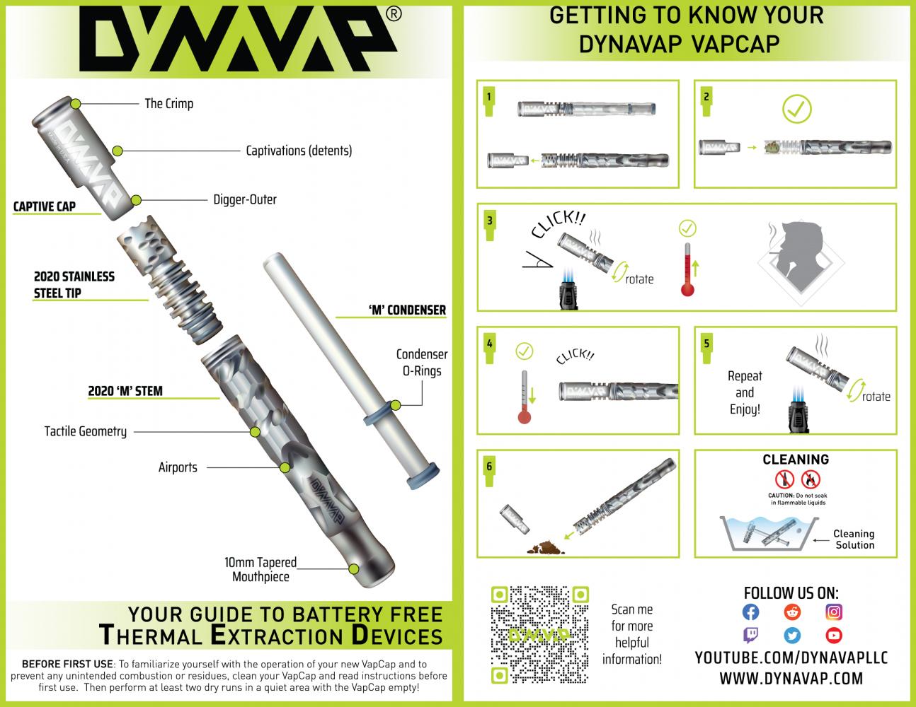 dynavap M2021 ダイナバップ スターターパック/本体のみ 選択可 アナログ ヴェポライザー 直火 加熱式タバコ コンダクション