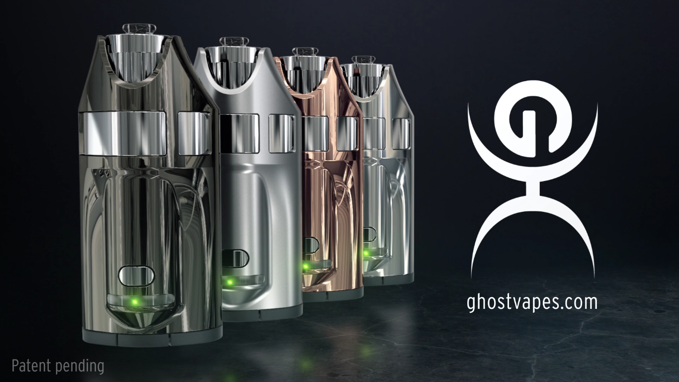 GHOST VAPES GHOST MV1(ゴーストベイプス ゴーストエムブイワン) ヴェポライザー スターターキット