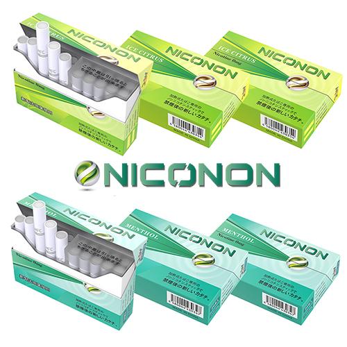 【メンソール 1箱(20本入り)】 NICONON ニコノン 禁煙後の新しいカタチ。 アイコス互換機 次世代ニコチン0mg加熱式スティック