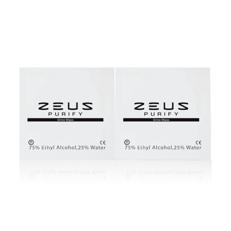 zeus専用 Zeus Purify Grime Wipes 清掃用ワイパー