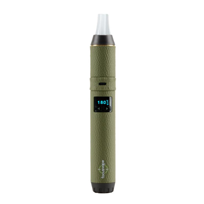FOCUS VAPE / FOCUS VAPE PRO ヴェポライザースターターキット 電池交換式 ペン型 液晶付き