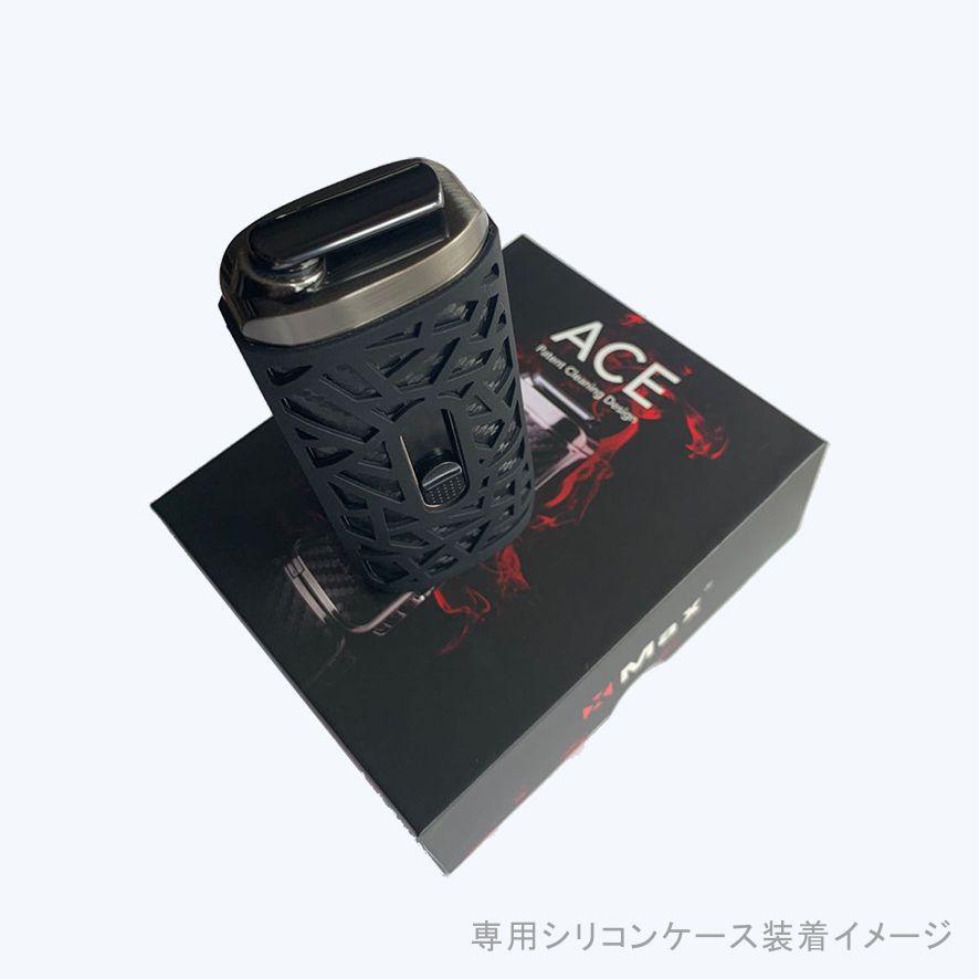最新topgreen XMAX ACE シリコンケース付き トップグリーン エックスマックス エース 加熱式タバコ 電子タバコ ヴェポライザー 葉タバコ シャグ 減煙 (� ブラック)