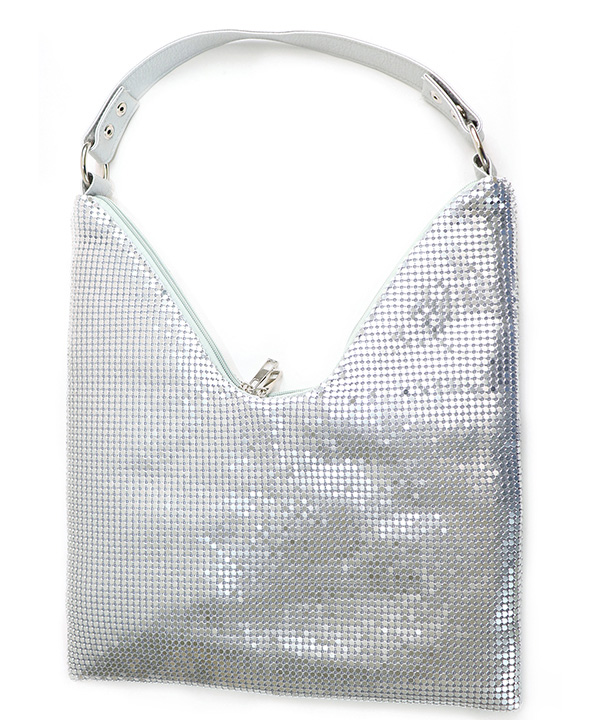 キラキラ ビジューのストーンバッグ