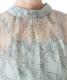 レース袖セットアップドレス