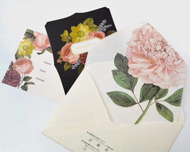 - Lady Botanical - 招待状/10枚セット