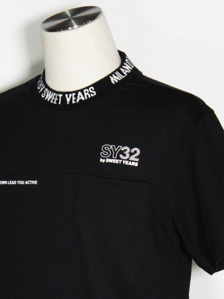 SY32 by SWEET YEARS「EXCHANGE POCKET TEE」BLACK