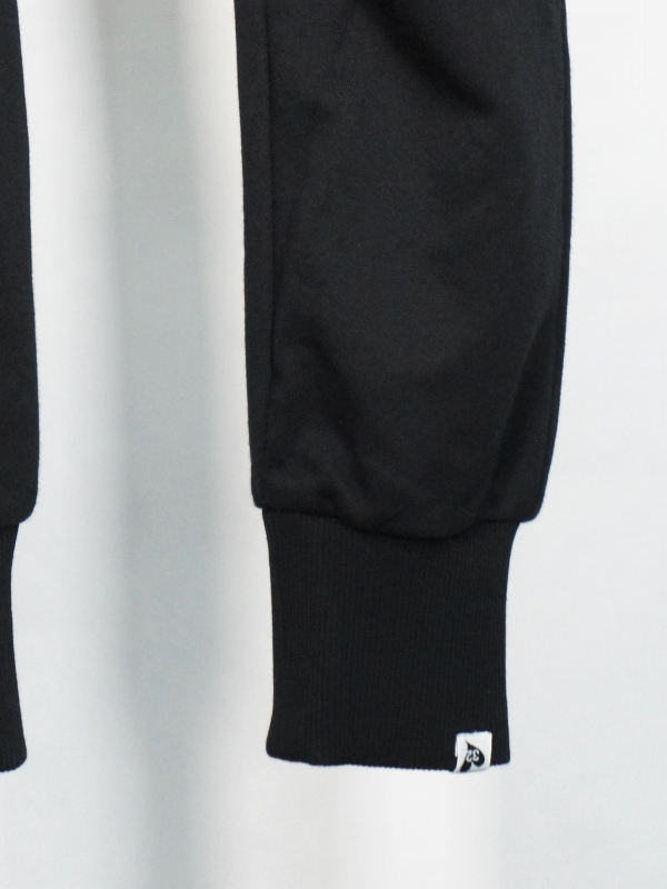 SY32 by SWEET YEARS「BASIC SWEAT PANTS」BLACK×WHITE