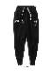 SY32 by SWEET YEARS「SHIELD LOGO SWEAT PANTS」BLACK