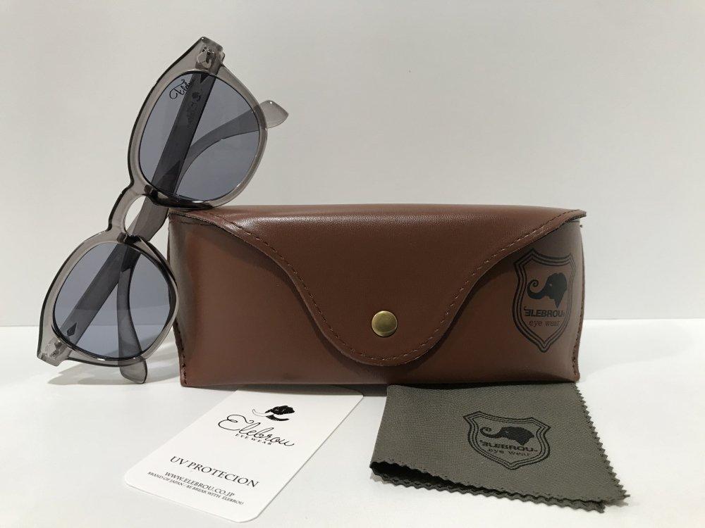 ELEBROU eyewear「【ケース付】No.356 Madison gray」 GRAY