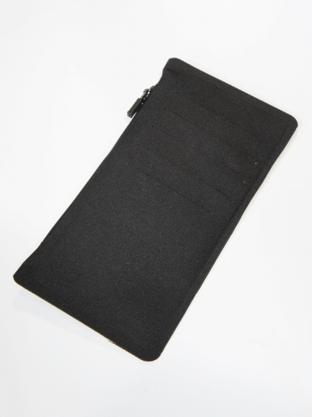 FORTUNA HOMME「NoSeam Coin&CardCase FHWA-002」BLACK