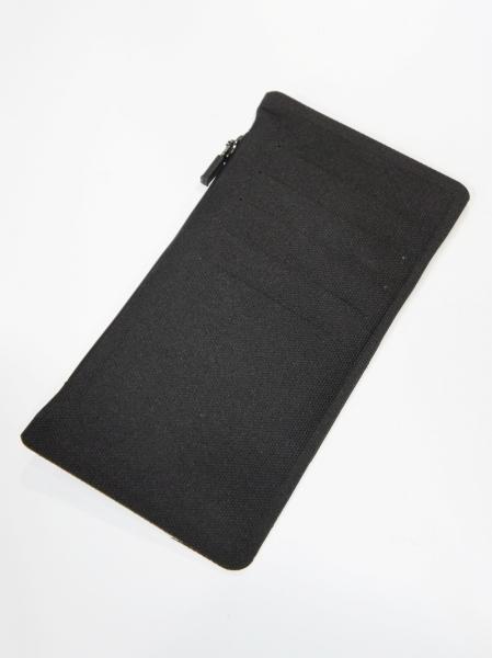 FORTUNA HOMME「NoSeam Coin&CardCase FHWA-002」BLACK