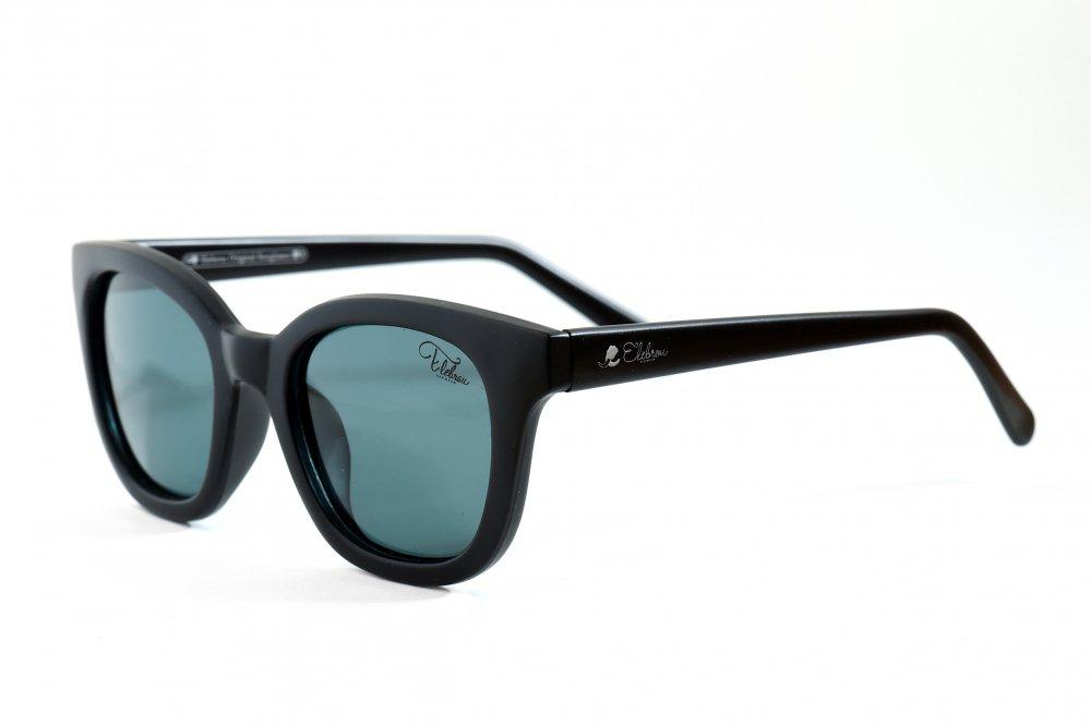 ELEBROU eyewear「【ケース付】No,373 Milolii BlackG15 POLARIZED(偏光レンズ特別仕様)」 BLACK