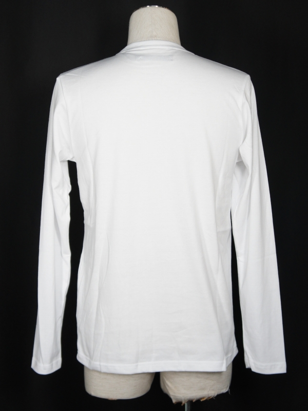 SY32 by SWEET YEARS「BOX LOGO L/S TEE」WHITE×WHITE