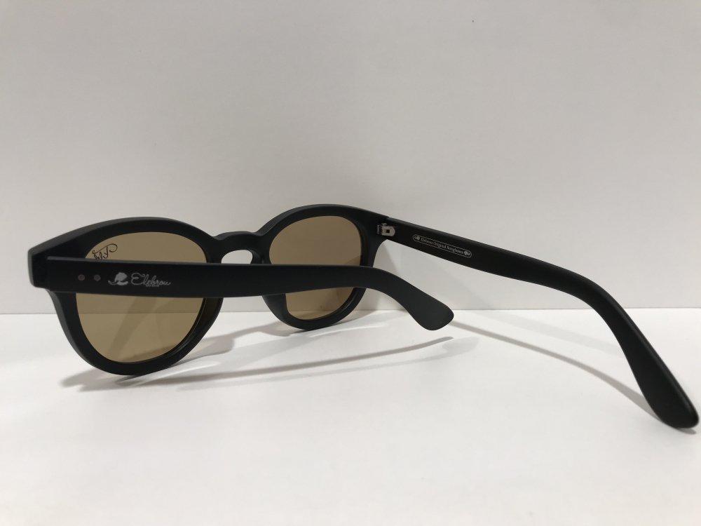 ELEBROU eyewear「【ケース付】No,354 Sedona Brown POLARIZED(偏光レンズ特別仕様)」 BLACK