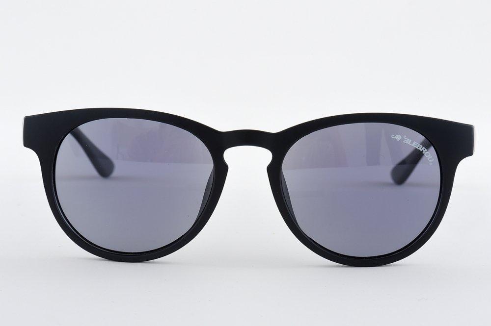 ELEBROU eyewear「【ケース付】No,P366-1 GLOBE SHINE POLARIZED(調光偏光レンズ特別仕様)」 BLACK
