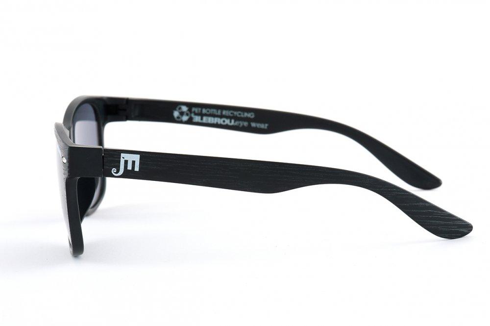 ELEBROU eyewear「【ケース付】No,EP365-4 EARTH Wood BIO GY( バイオレンズ特別仕様)」 BLACK