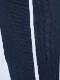 5351POUR LES HOMMES「ホワイトライン トラックパンツ」ブラック