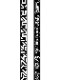 SY32 by SWEET YEARS「DOUBLE-SIDE GRAPHIC BELT-11562G」BLACK