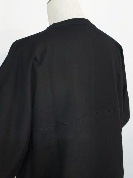 FORTUNA HOMME「Crewneck PaperLike T FHCT-0021」BLACK