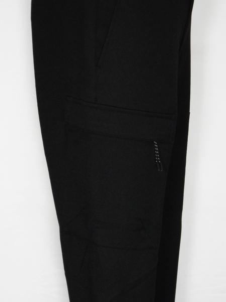 5351POUR LES HOMMES「スキニージョグ カーゴパンツ」ブラック