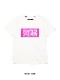SY32 by SWEET YEARS「BOX LOGO TEE」WHITE×PINK