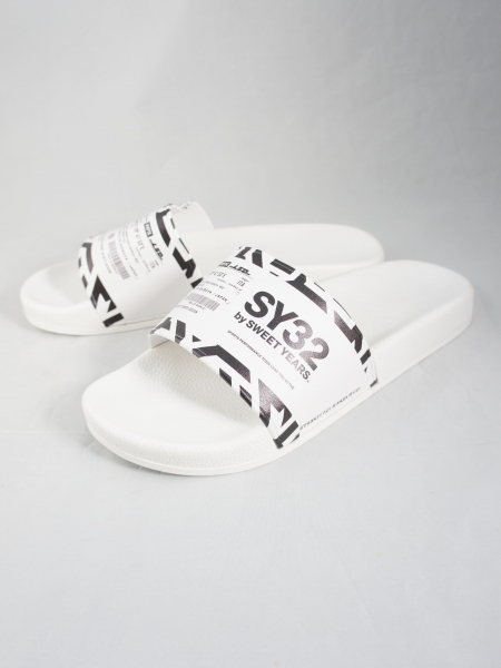SY32 by SWEET YEARS「SHOWER SANDALS (ADDRES)」WHITE