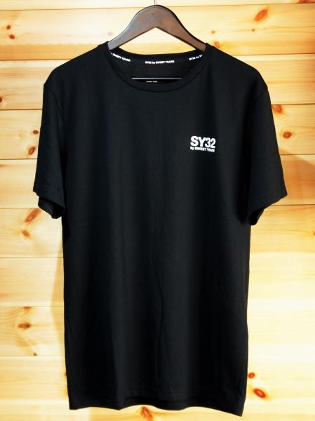 SY32 by SWEET YEARS「NEW LOGO BACK PRINT TEE」BLACK