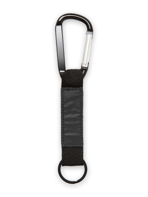 SY32 by SWEET YEARS「CARABINER KEY STRAP」BLACK