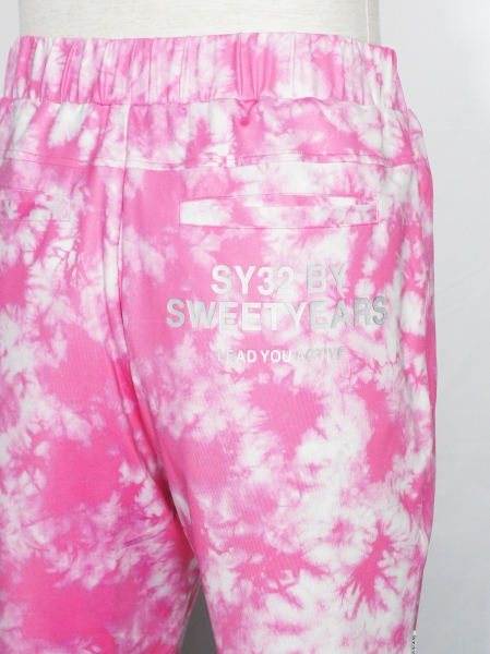 SY32 by SWEET YEARS「RUSH GUARD SHORT PANTS」PINK