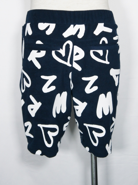 SY32 by SWEET YEARS「PILE SHORT PANTS」NAVY