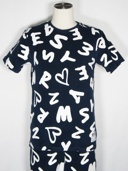 SY32 by SWEET YEARS「PILE TEES」NAVY