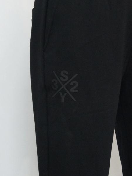 SY32 by SWEET YEARS「HEAVY SWEAT PANTS」BLACK