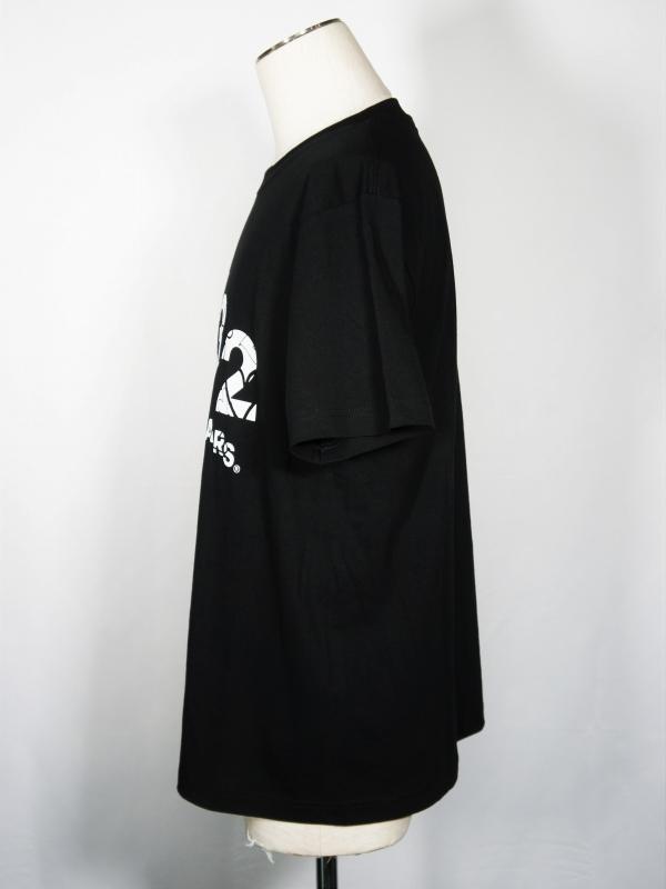 SY32 by SWEET YEARS「【eNs別注】EXCLUSIVE SLASHING LOGO TEE-10401E」BLACK