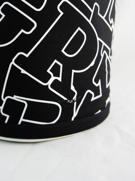 1PIU1UGUALE3 RELAX「ランダムロゴボクサーパンツ」BLACK