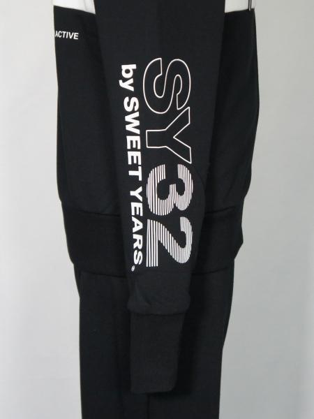 SY32 by SWEET YEARS「EXCHANGE ZIP HOODIE」BLACK
