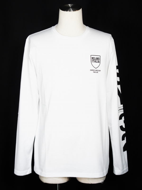SY32 by SWEET YEARS「SHIELD LOGO LS T」WHITE