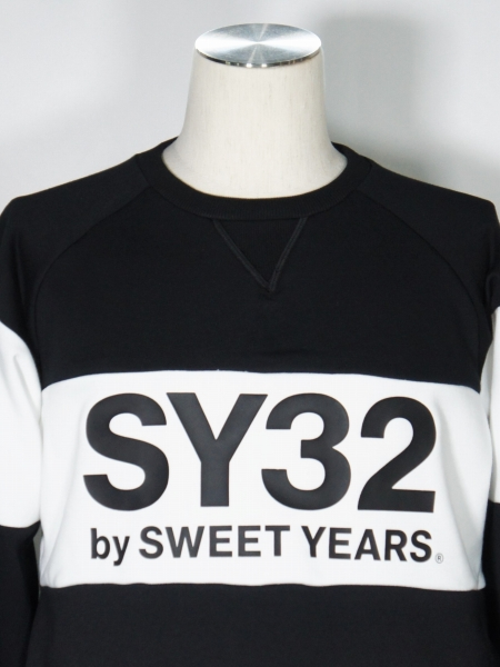 SY32 by SWEET YEARS「EXCHANGE P/O CREW」BLACK