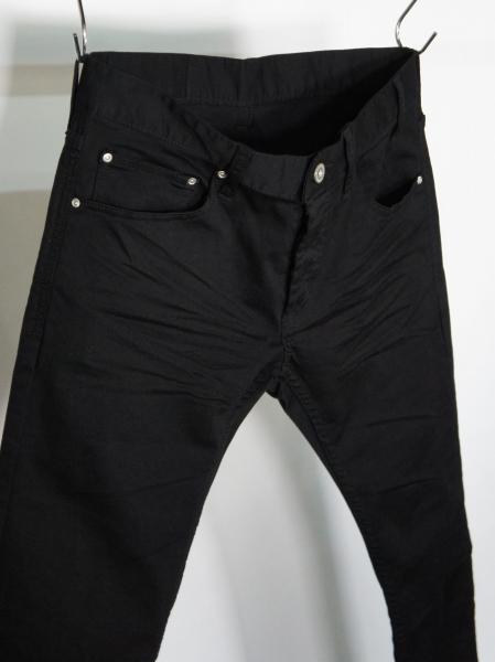 5351POUR LES HOMMES「ブラック スキニー デニム」ブラック