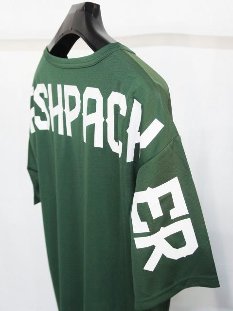 FLASH PACKER「メッシュTシャツ [XMT-OLD]」GREEN