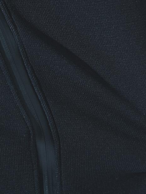5351POUR LES HOMMES「ニットコートフーディー」ブラック