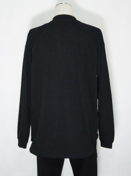 FORTUNA HOMME「CashmereBrushed L/S Tee FHLT-0046」BLACK