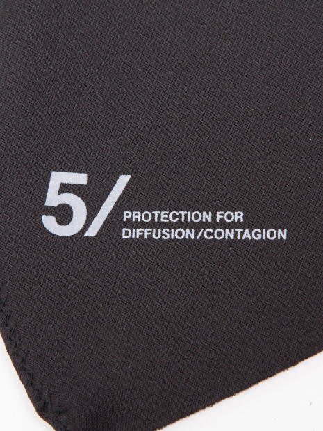 5351POUR LES HOMMES「5351オリジナルマスク」ブラック_1