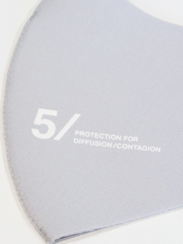5351POUR LES HOMMES「5351オリジナルマスク」ライトグレー