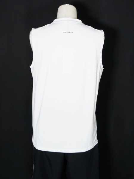 SY32 by SWEET YEARS「IRIDESCENT LOGO TANK TOP」WHITE