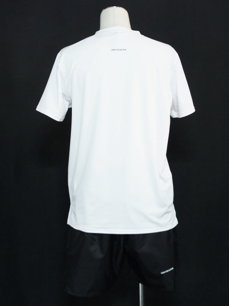 SY32 by SWEET YEARS「IRIDESCENT LOGO PRACTICE SHIRTS」WHITE