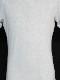 5351POUR LES HOMMES「フラワープリント 半袖 Vネック Tシャツ」ホワイト