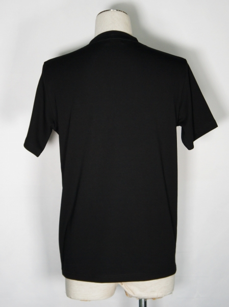 5351POUR LES HOMMES「グラフィックライン Tシャツ」ブラック