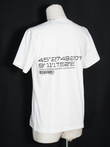 SY32 by SWEET YEARS「DESIGN NECK TEE」WHITE