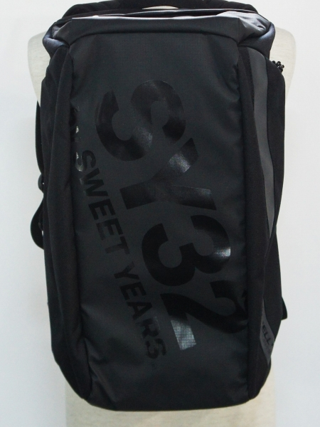 SY32 by SWEET YEARS「【LINNELL'S】×BIG LOGO BACKPACK」BLACK
